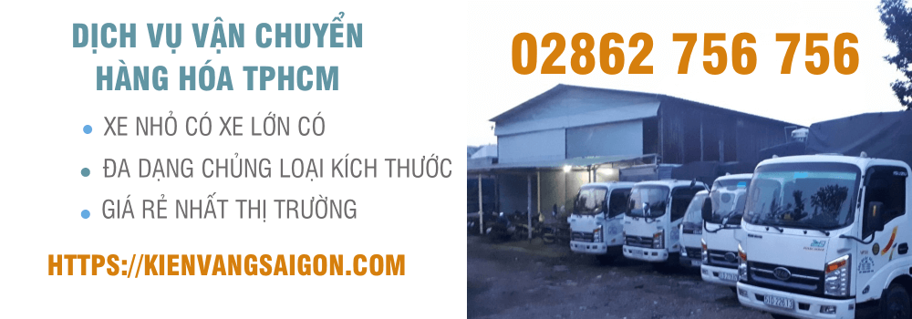 dịch vụ vận chuyển hàng hoá tphcm