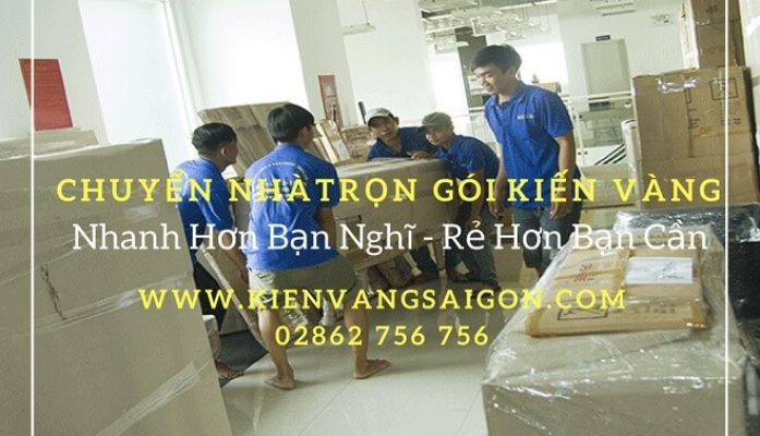 Quy trình của dịch vụ chuyển nhà Kiến Vàng