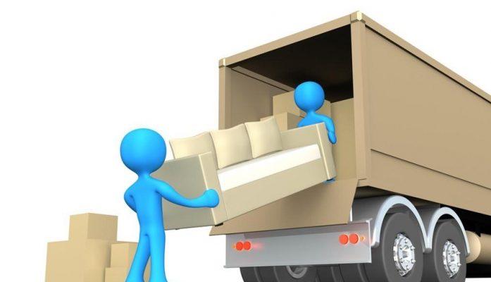 Sắp xếp các thùng đồ đạc lên xe tải như thế nào là khoa học