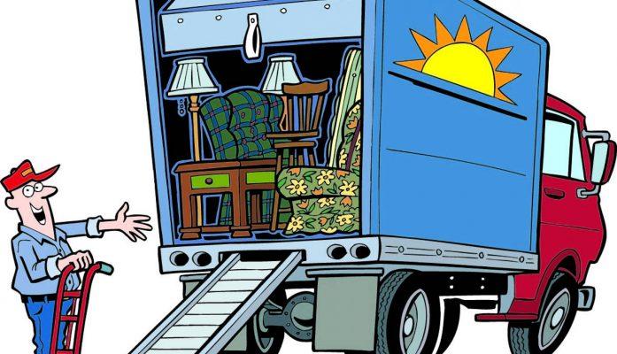 Sắp xếp đồ đạc lên thùng xe tải theo nguyên tắc nào