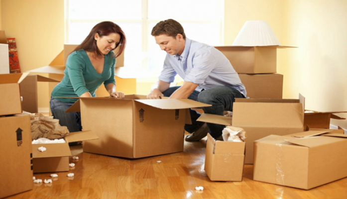 Vi vu ở nhà mới vì có dịch vụ chuyển nhà trọn gói