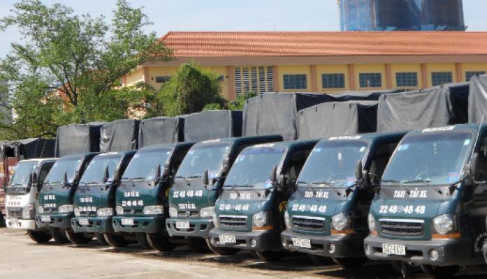 Dịch vụ cho thuê xe tải chở hàng uy tín, đảm bảo chất lượng