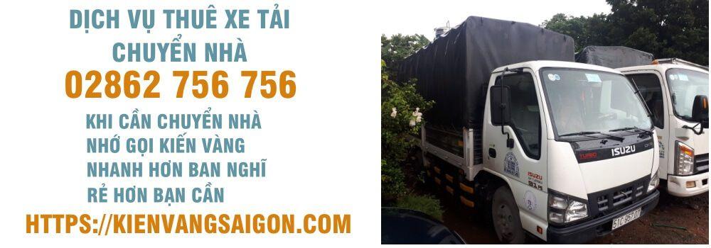dịch vụ thuê xe tải chuyển nhà