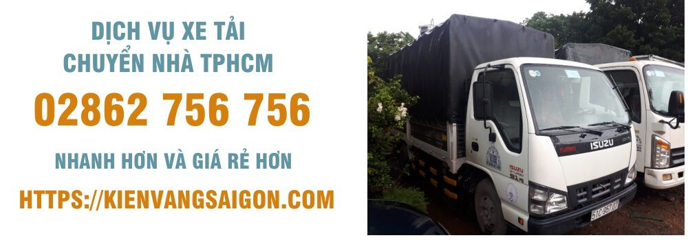 dịch vụ xe tải chuyển nhà