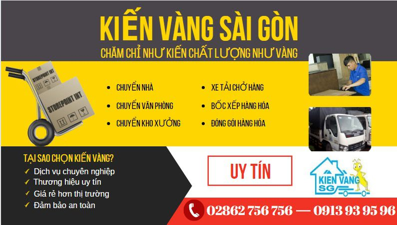 Công ty Kiến Vàng Sài Gòn