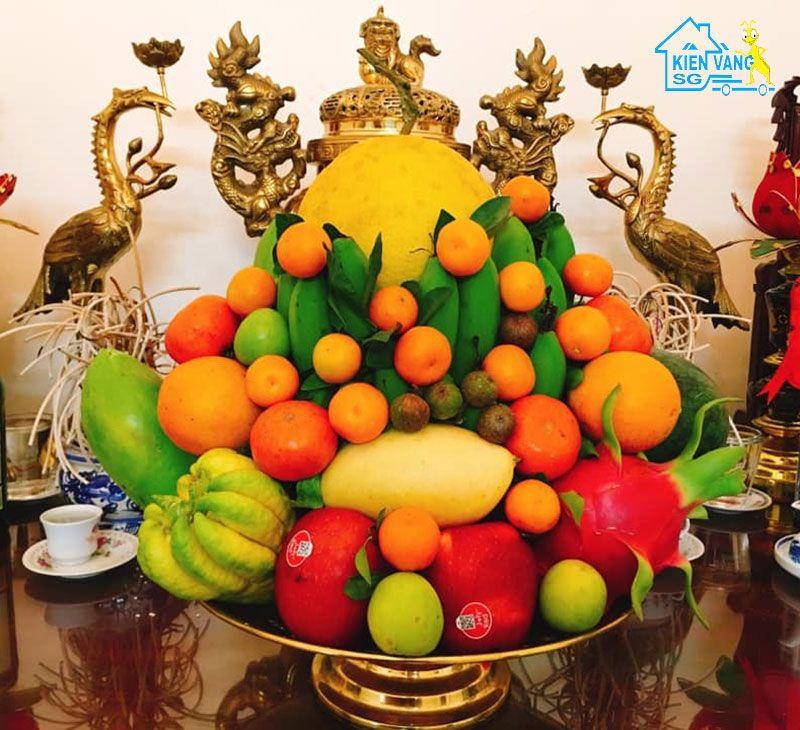 Các loại trái cây cúng về nhà mới