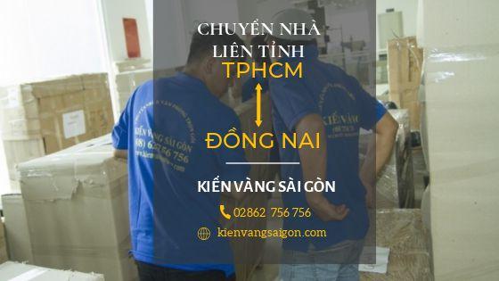 Dịch vụ chuyển nhà liên tỉnh TpHCM đi Đồng Nai
