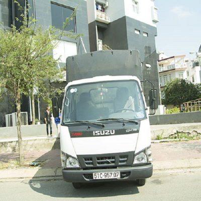 Cho thuê xe tải chở hàng tphcm và các tỉnh - Kiến Vàng Sài Gòn